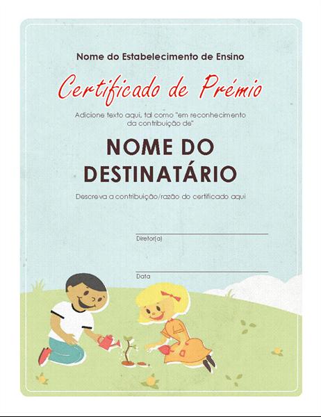Certificado do 1.º Ciclo do Ensino Básico