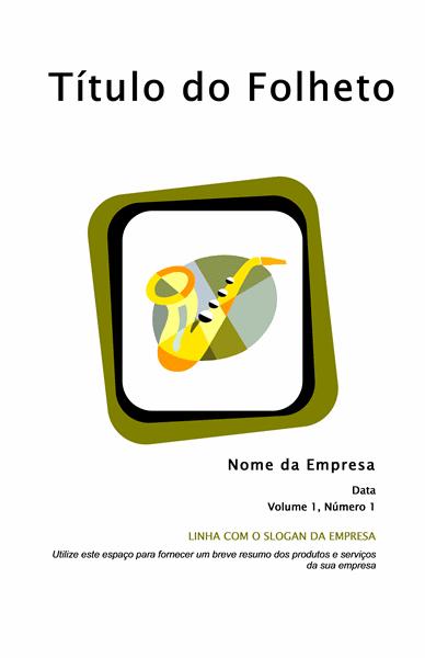 Folheto para produtos e serviços (8 1/2 x 11, dobrável, 8 págs.)
