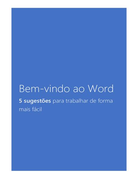 Bem-vindo ao Word