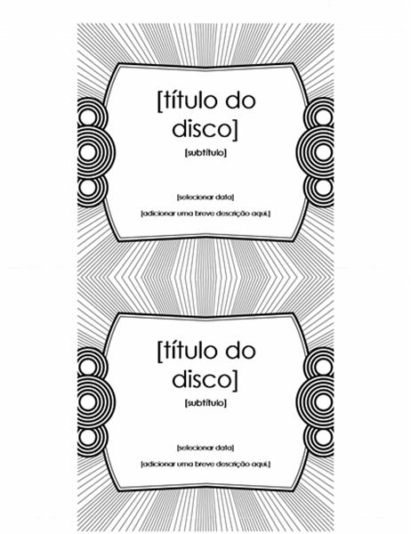 Etiqueta de CD