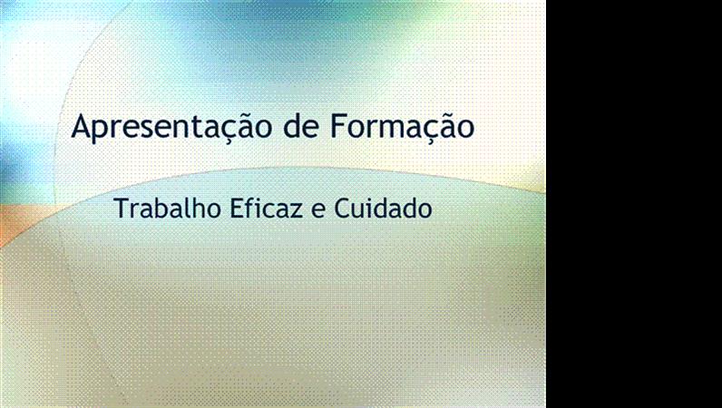 Apresentação do seminário de formação