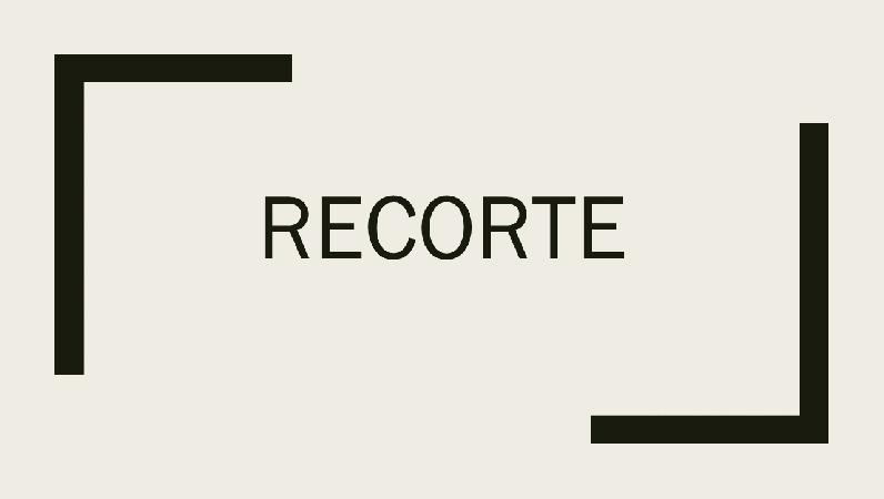 Recortar
