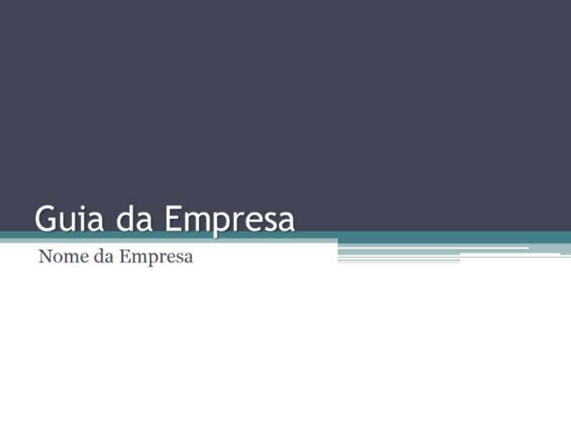 Guia da empresa