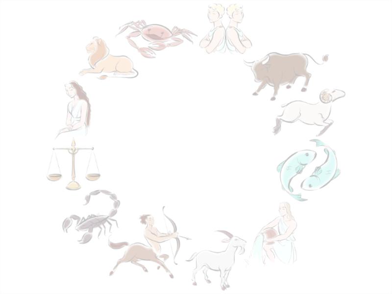 Modelo de apresentação de astrologia