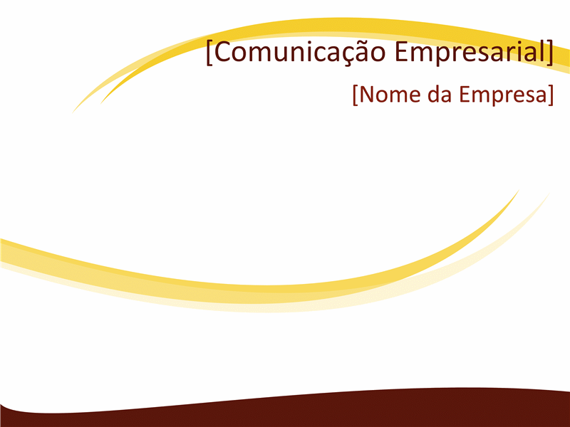 Diapositivos de design comercial (design Burgundy Wave)