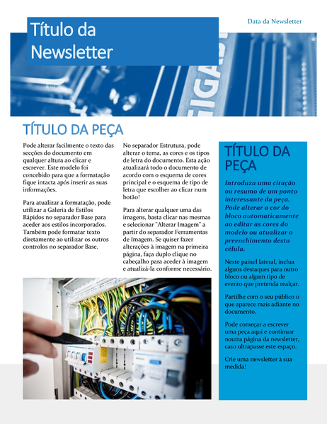 Newsletter de hardware