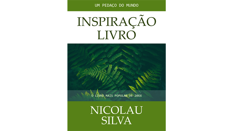 Capas para livro inspirador