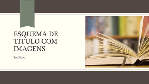 Apresentação académica (ecrã panorâmico)