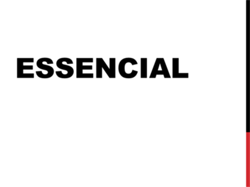 Essencial