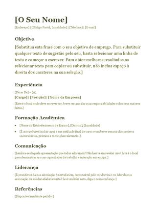Currículo (verde)