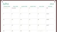 Calendário académico 2014-2015 (julho-junho)