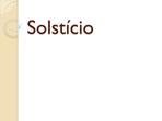 Solstício
