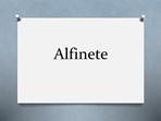 Alfinete
