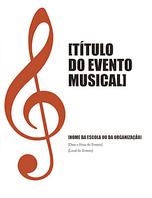 Programa de evento musical
