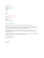 Carta de apresentação de currículo funcional (correspondente com o currículo funcional)