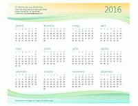 Calendário de pequenas empresas (qualquer ano)