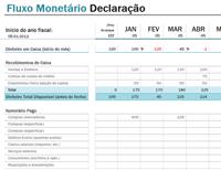 Declaração de Fluxo Monetário