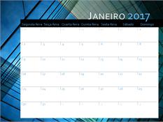 Calendário de 2017 (segunda-feira a domingo)