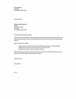 Carta de apresentação curta para responder a um anúncio