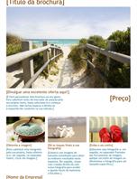 Brochura de viagens