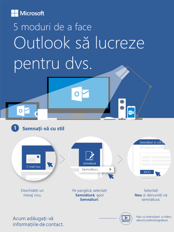 5 modalități de a face ca Outlook să lucreze pentru dvs.