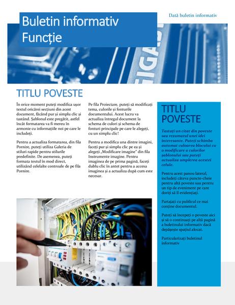 Buletin informativ hardware