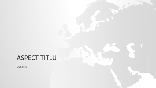Seria Hărți ale lumii, Prezentarea Europei (ecran lat)
