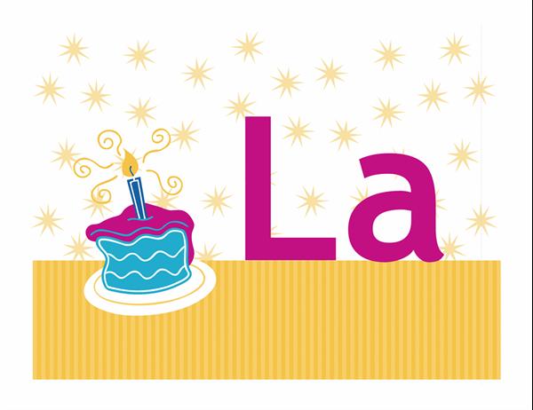 Banner pentru ziua de naștere