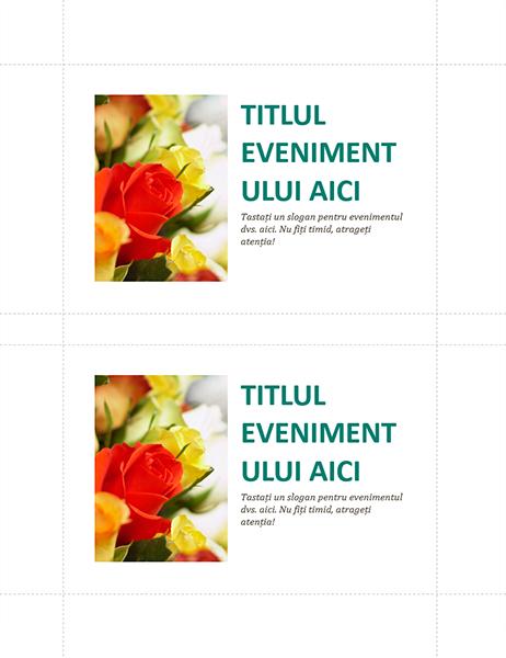 Cărți poștale pentru evenimente de firmă (2 pe pagină)