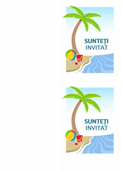Invitație la petrecere