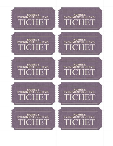 Bilete simple