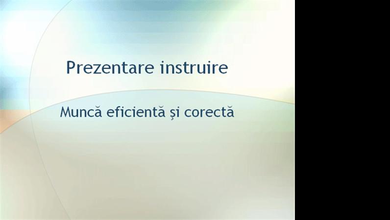 Prezentare seminar de instruire