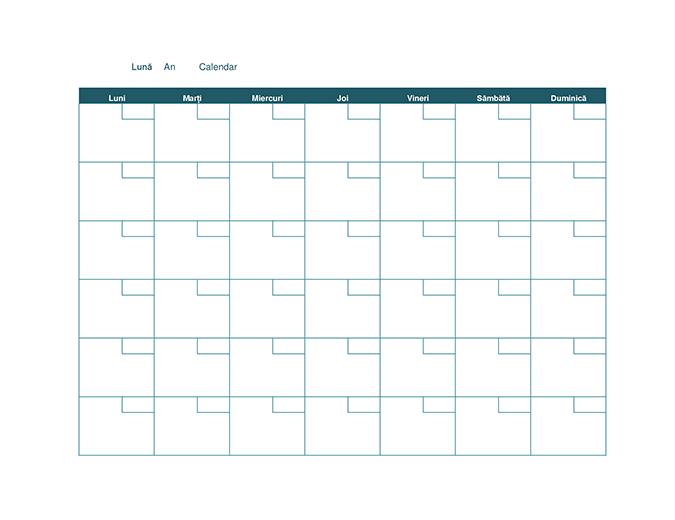Calendar lunar necompletat