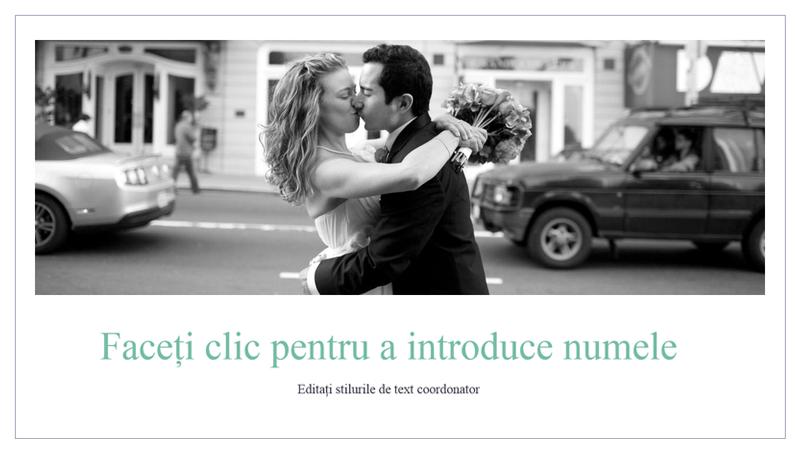 Album de fotografii de nuntă simplu