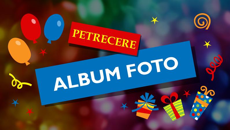 Album de fotografii petrecere