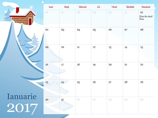 Calendar pe anotimpuri 2015 ilustrat (L - D)
