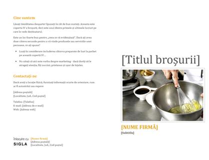 Broșură pentru produse și servicii