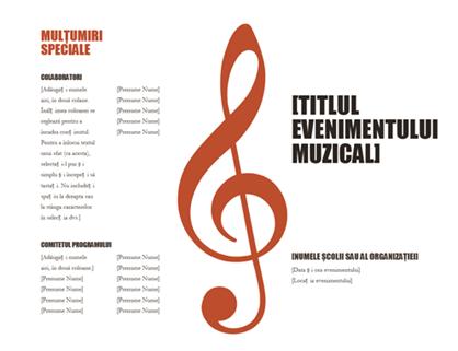 Program muzical
