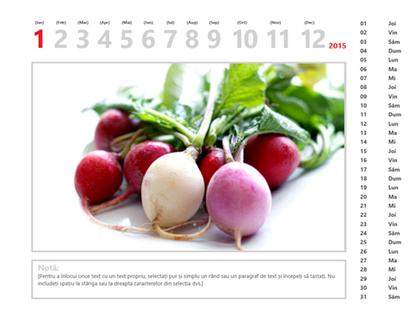 Calendar cu fotografii 2015