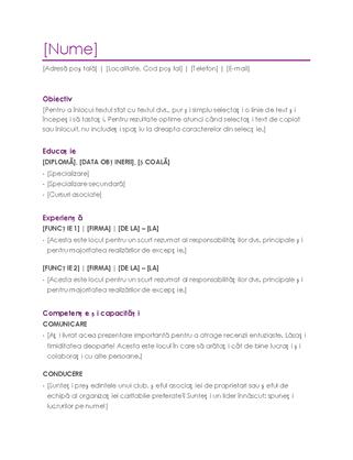 CV (violet)