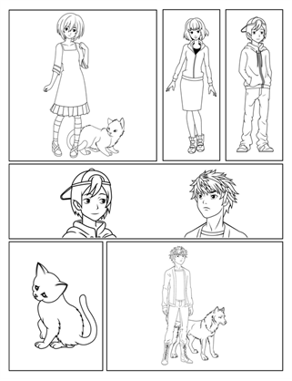 Benzi desenate manga