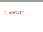 Claritate