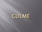 Culme