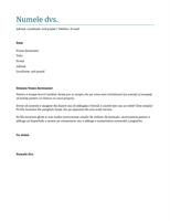 Scrisoare de intenție (albastru)