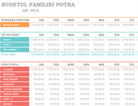 Buget de familie