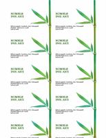 Cărți de vizită (Bambus)