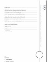 Foaie de însoțire fax (design Foișor)