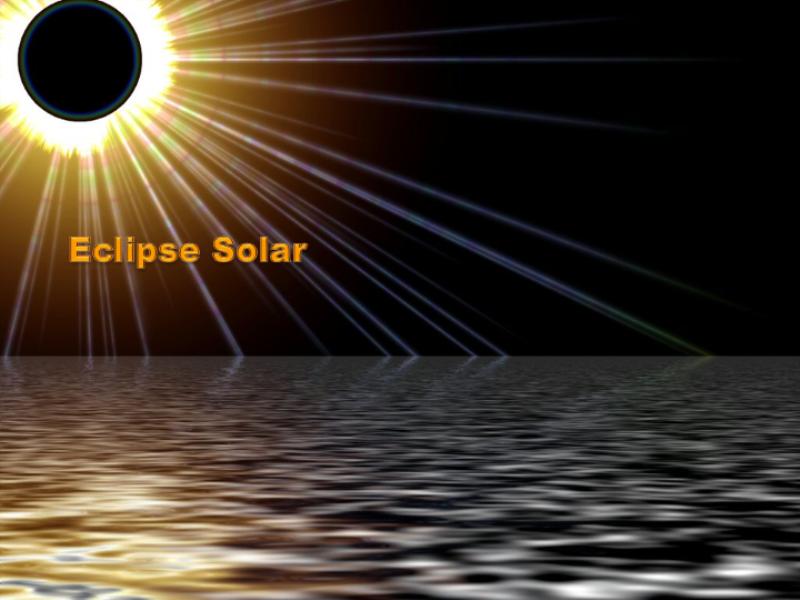 """Шаблон оформления """"Солнечное затмение на море"""""""