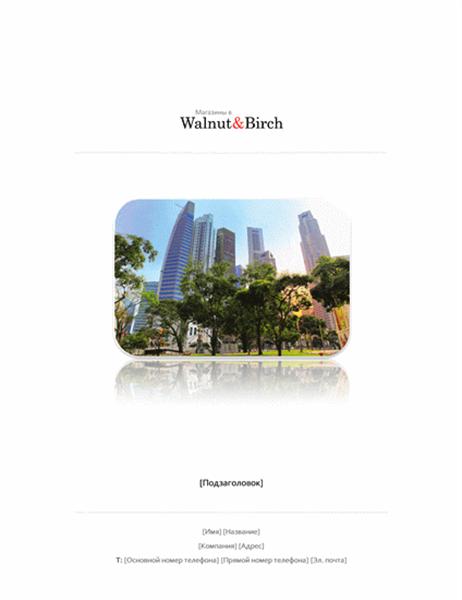 Бизнес-отчет (на шести страницах)