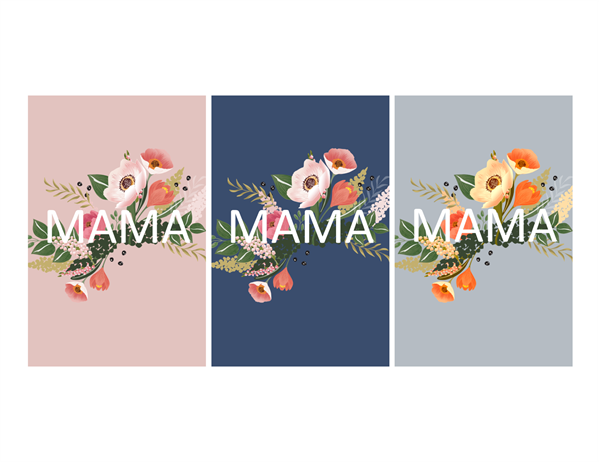 Красивая открытка на День матери